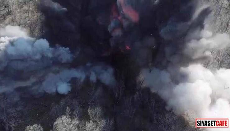 Şırnak'ta terör örgütü PKK'ya büyük darbe! 36 sığınak ve barınak imha edildi