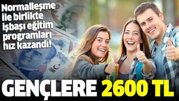 Gençlere 2600 TL