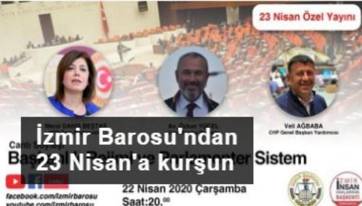 İzmir Barosu 23 Nisan'ı HDP ile anlatacak!