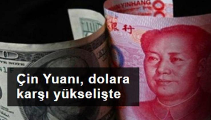 Çin Yuanı, dolara karşı 31 ayın en yüksek seviyesine yükseldi