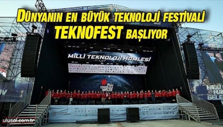 Dünyanın en büyük teknoloji festivali TEKNOFEST başlıyor