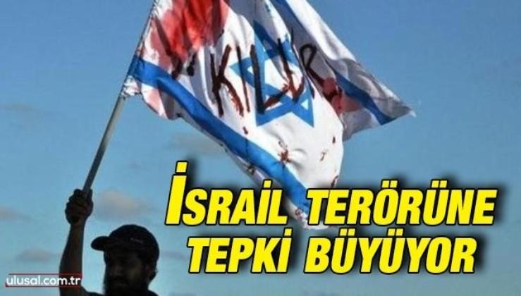 İsrail'e karşı tepkiler büyüyor