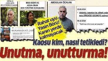 Terör, kaos, yağma... İşte HDP destekli Kobani eylemlerinin ülkemize faturası