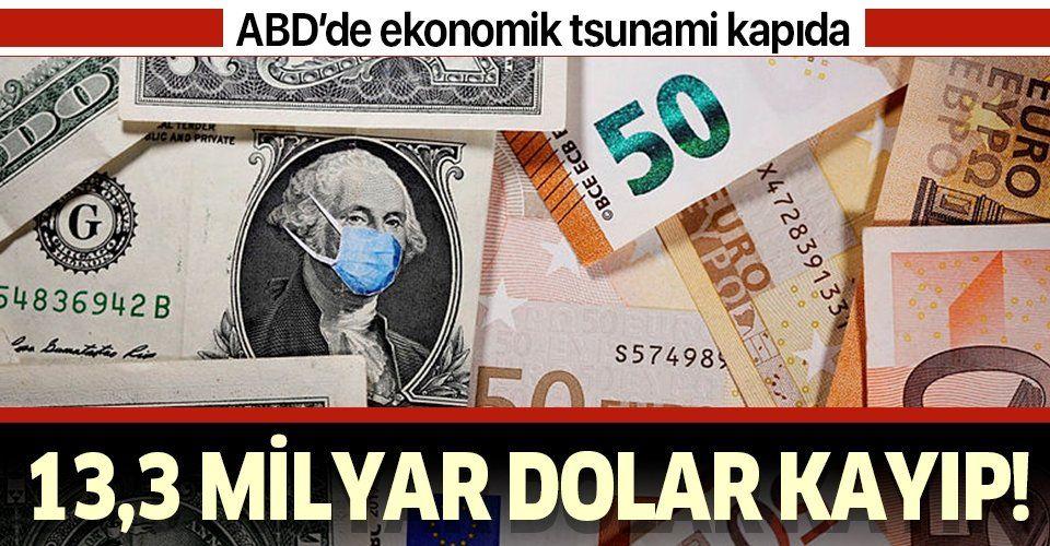 ABD'de ekonomik tsunami uyarısı! 13,3 milyar dolar gelir kaybı!