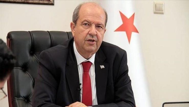 KKTC Başbakanı Ersin Tatar: Buraya Türkiye'nin kararlı davranışıyla gelindiği kesindir.