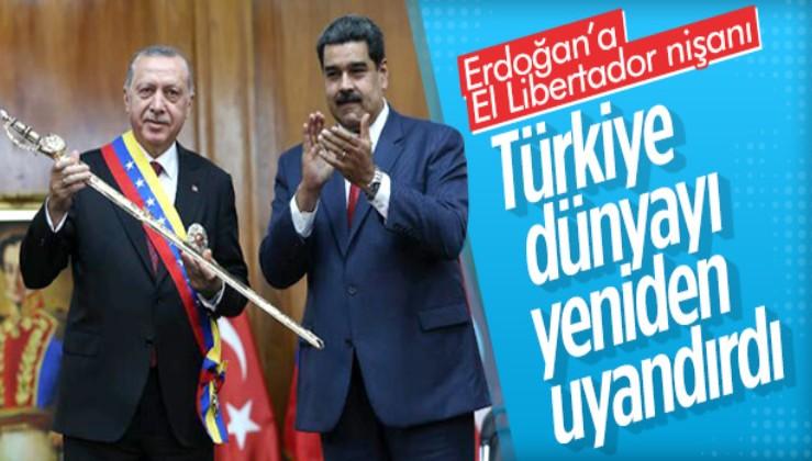 """Maduro: """"TÜRKİYE, DÜNYAYI YENİDEN UYANDIRDI"""""""