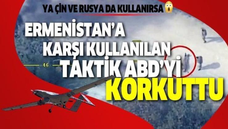 Son dakika: Azerbaycan'ın Ermenistan'a karşı kullandığı taktik ABD'yi korkuttu: Ya Çin ve Rusya da kullanırsa...