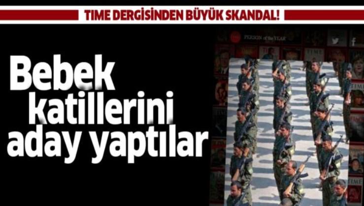 TIME dergisinden büyük skandal! PKK/YPG'li teröristleri 'Yılın Kişisi' listesine aday gösterdi.
