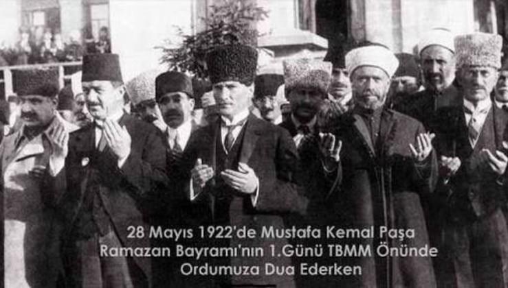 Büyük Atatürk'ün gösterdiği akıl ve bilim yolunda nice bayramlar.