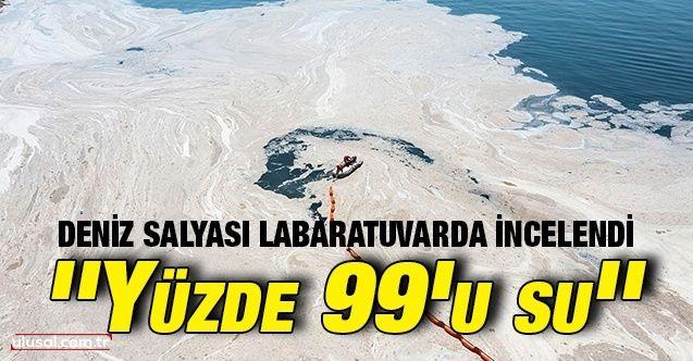 Çevre ve Şehircilik Bakanlığından müsilaj açıklaması: ''Yüzde 99'u su''