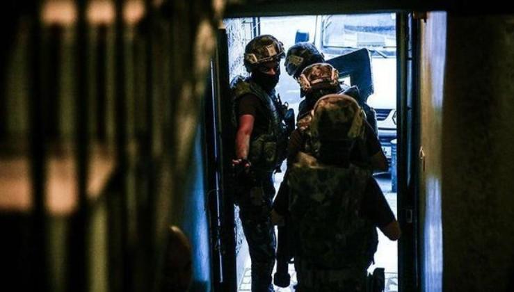 Kırşehir'de DEAŞ operasyonu 24 gözaltı