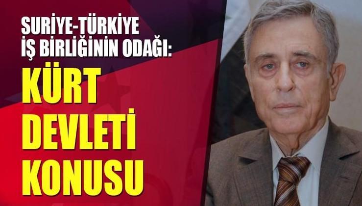 Suriye-Türkiye iş birliğinin odağı: Kürt devleti konusu