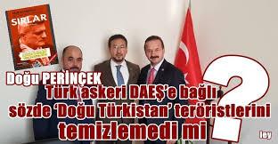 """Fırat Kalkanı Harekâtında PKK ile """"Doğu Türkistan İslamî Hareketi"""" Mehmetçiğe karşı savaştı."""