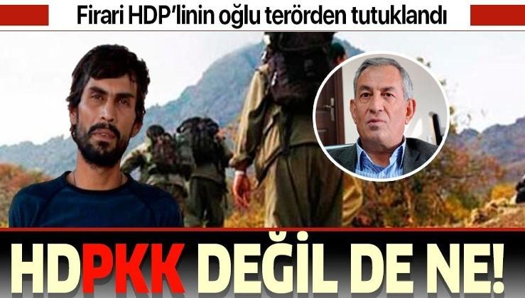 """Son dakika: Firari eski HDP milletvekili Demir Çelik'in oğlu """"Savaş"""" kod adlı terörist Yoldaş Selim Çelik tutuklandı"""