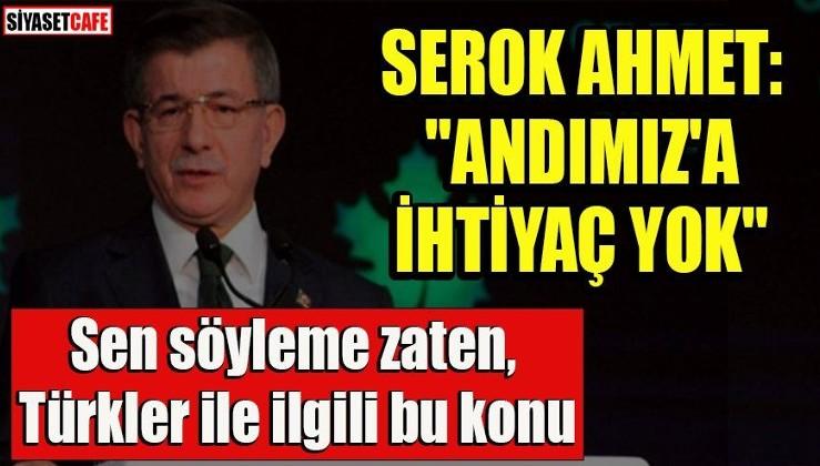 Kılıçdaroğlu'nun dostu Ahmet Davutoğlu'ndan andımız ile ilgili ihanet gibi açıklama