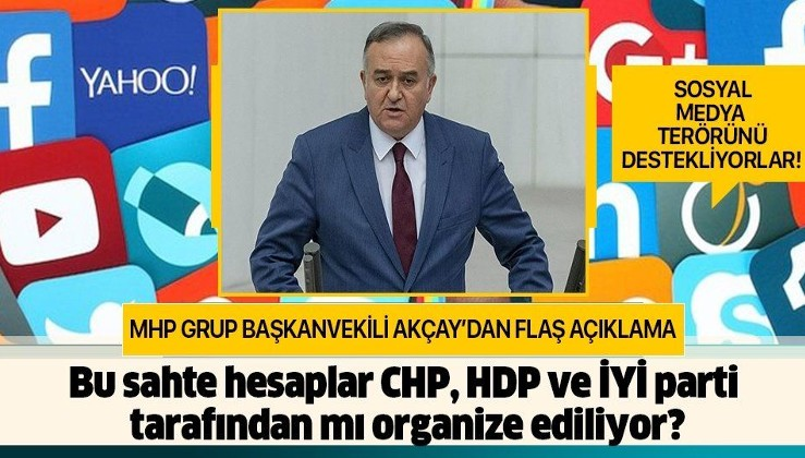 """MHP Grup Başkanvekili Akçay: """"Algı yaratmaya çalışılıyor"""""""