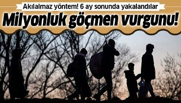 Son dakika: Dolandırıcılardan milyonluk 'göçmen' vurgunu: 36 şüpheli yakalandı