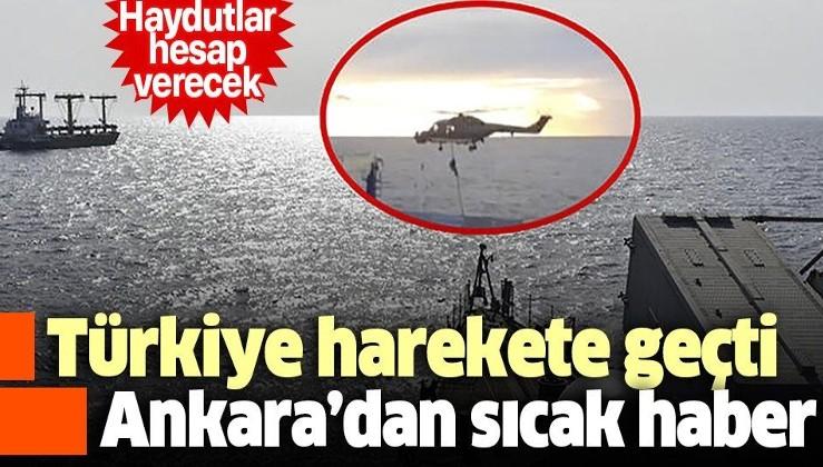 Son dakika: Ankara Cumhuriyet Başsavcılığı'ndan Türk gemisine müdahaleye soruşturma