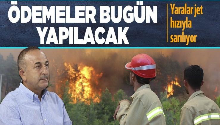Son dakika: Bakan Çavuşoğlu'ndan orman yangınlarına ilişkin son dakika açıklaması