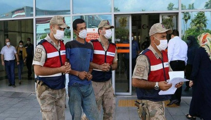 Son dakika: Hatay'da ormanlık alanı ateşe verdiği iddiasıyla yakalanan şüpheli tutuklandı