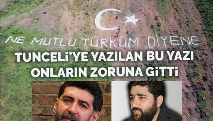 Mehmetçik 'Ne mutlu Türküm diyene' yazdı, onlar zıpladı