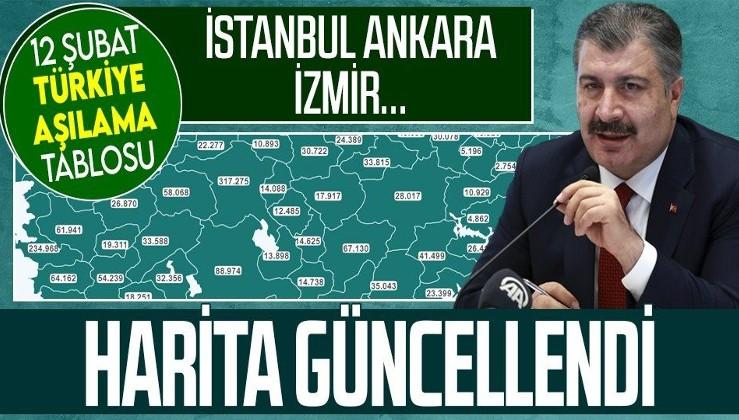 Sağlık Bakanlığı haritayı güncelledi! Türkiye'de kaç kişi aşı oldu? Sağlık Bakanı Fahrettin Koca'dan flaş açıklama