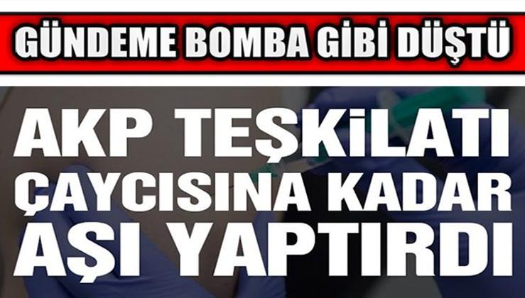 AKP teşkilatı hakkında çarpıcı iddia