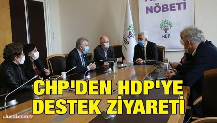 CHP'den HDP'ye destek ziyareti