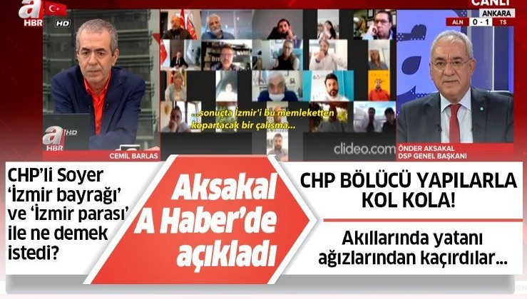 Tunç Soyer 'İzmir parası' ve 'İzmir bayrağı' ile ne demek istedi? Önder Aksakal'dan çapıcı açıklamalar