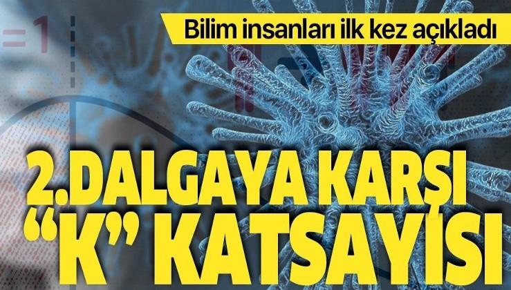 """Bilim insanları ilk kez açıkladı! Koronavirüste ikinci dalgaya karşı """"K"""" katsayısı!"""