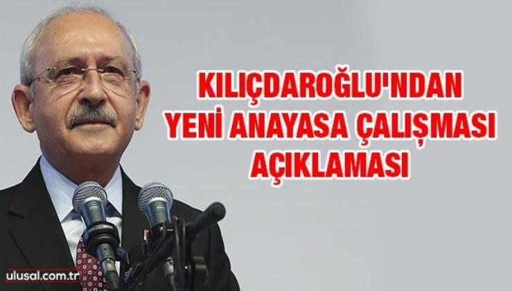 Kılıçdaroğlu'nu hayretle izliyoruz, yeni anayasa çalışması açıklaması: Daha önce yaptık...