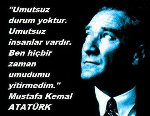 Mustafa Kemal Paşa, Samsun'a çıkmak yerine: Ülkem için üzgünüm ülke beni kaybetti, deseydi...