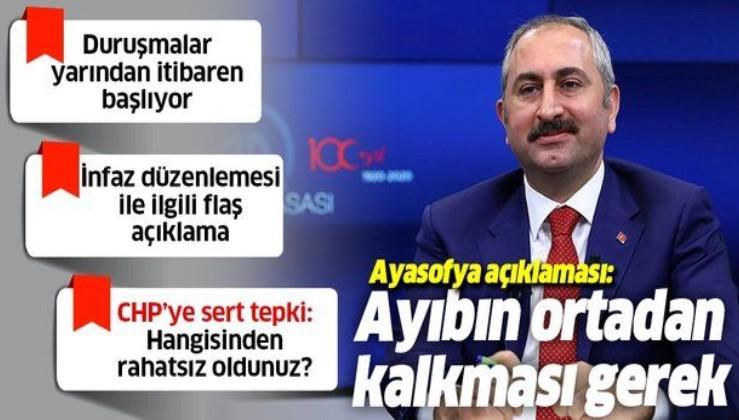 Son dakika: Adalet Bakanı Abdülhamit Gül duyurdu: Yarından itibaren başlıyor