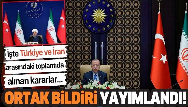 Son dakika: Türkiye ve İran arasındaki kritik toplantının ardından ortak bildiri yayımlandı
