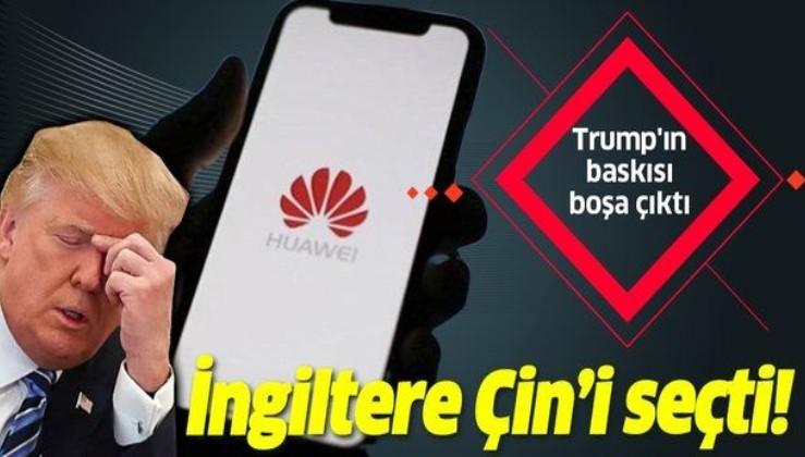 ABD'nin uyarısına rağmen İngiltere'den Huawei'ye stratejik destek!.