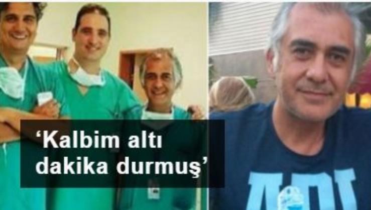 Koronavirüsü yenen Dr. Selçuk Köse: 'Kalbim altı dakika durmuş'