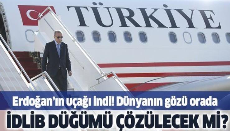 Son dakika: Cumhurbaşkanı Erdoğan, Rusya Devlet Başkanı Vladimir Putin ile görüşmek üzere Rusya'da!.