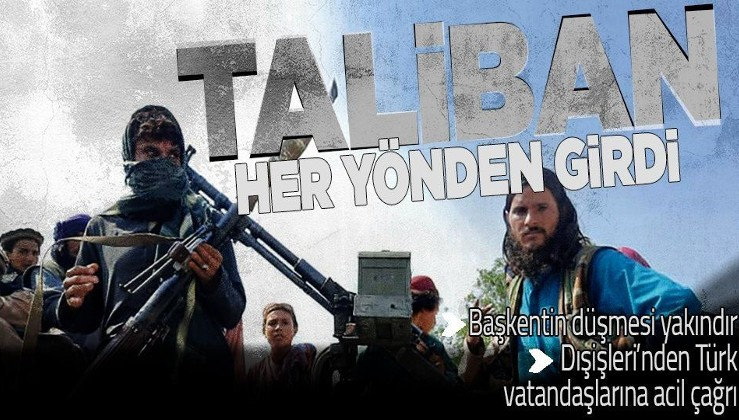 SON DAKİKA: Taliban Afganistan'ın başkenti Kabil'e girdi
