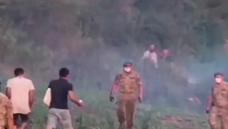 Asker neden yangına müdahale etmiyor diyen etki ajanları