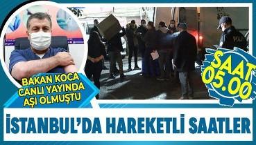 CoronaVac aşısı İstanbul'da hastanelere böyle dağıtıldı