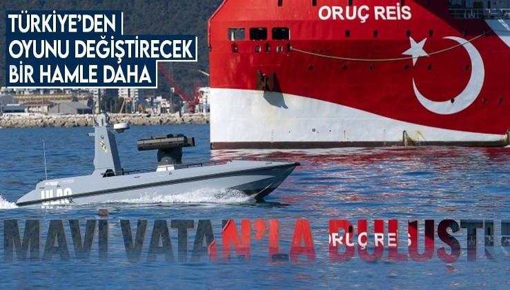 SON DAKİKA: Mavi Vatan ile buluştu! Türkiye'nin ilk silahlı insansız deniz aracı ULAQ