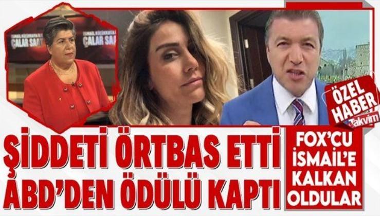 """İsmail Küçükkaya'nın eski eşi Eda Demirci'ye gösterdiği şiddete göz yuman Canan Güllü'ye ABD'den """"cesur kadın"""" ödülü"""