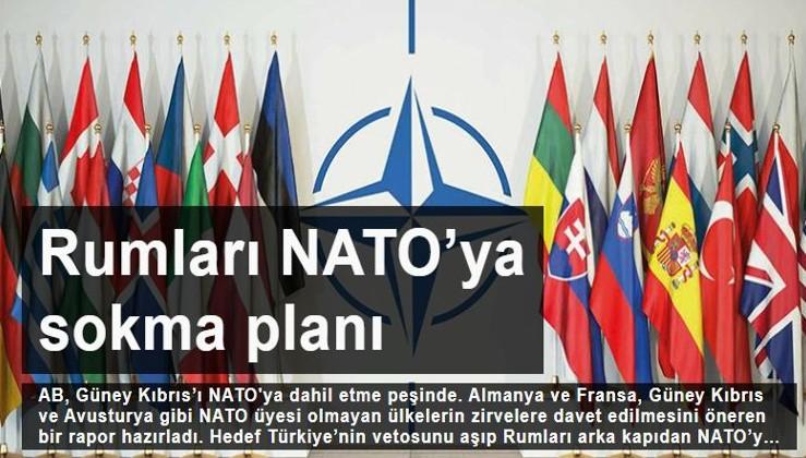Rumları NATO'ya sokma planı