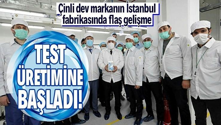 Son dakika: Oppo'nun İstanbul'daki fabrikası hakkında flaş gelişme! Test üretimine başladı! Bin kişilik istihdam kapısı olacak!