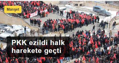 PKK ezildi halk harekete geçti:Doğu özgürleşiyor