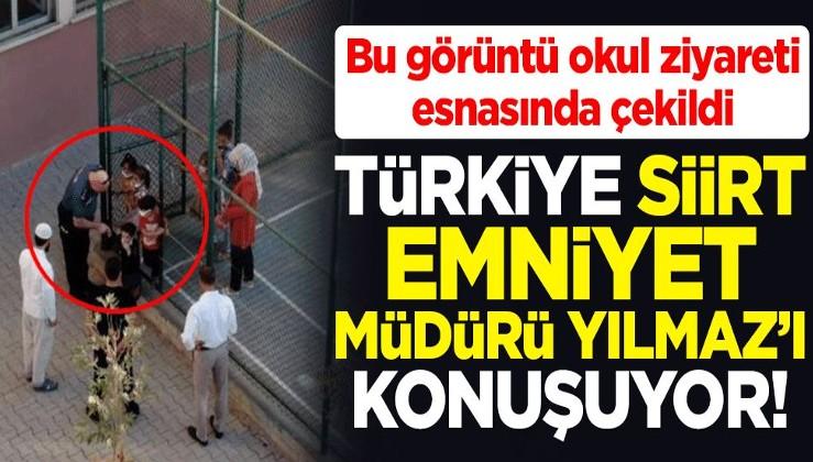 Türkiye Siirt Emniyet Müdürü Halit Aziz Yılmaz'ı konuşuyor! Okul ziyaretinde gönülleri fethetti