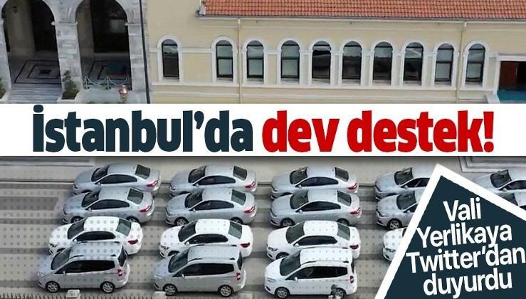Son dakika: İstanbul Valisi Ali Yerlikaya açıkladı: 'Vefa' çalışmalarına dev destek