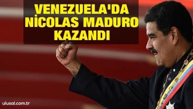 Venezuela'da seçimin galibi Devlet Başkanı Maduro oldu