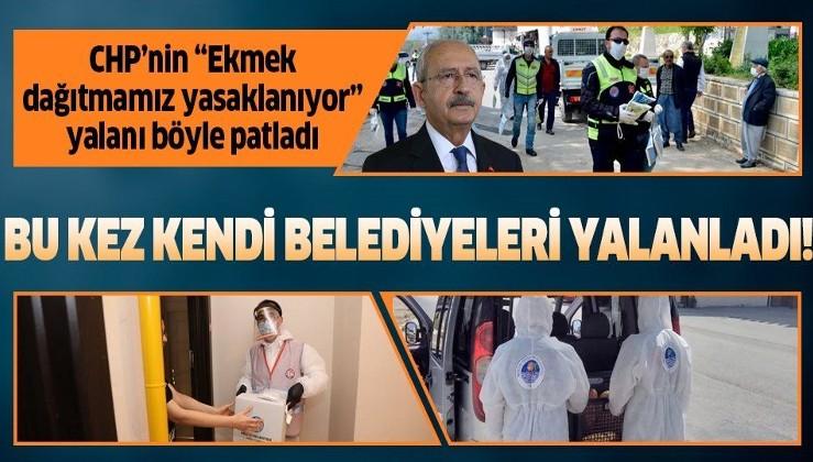 CHP'li belediyeler Kemal Kılıçdaroğlu ve Mersin Büyükşehir Belediye Başkanı'nı yalanlıyor!