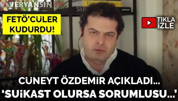 Cüneyt Özdemir: Başıma suikast gelirse...
